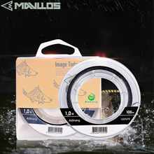 Mavllos 100m Carp Fishing Line Better Cut Water Strong Smooth PE Fishing Lines Process Producing Floating Pesca Fishing Line cheap Fire Line Ocean Rock Fshing Level Sink Line #0 4-#4 0 Black Good