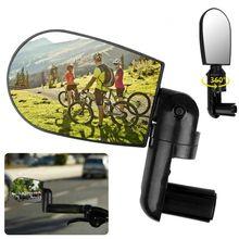 Высококачественный велосипед горный велосипед регулируемая Вращающаяся ручка заднего вида плоское зеркало Велосипедное оборудование