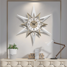 Quartz Clock Modern-Design Decorative On-The-Wall Living-Room Home Fashion 80cm No Mute