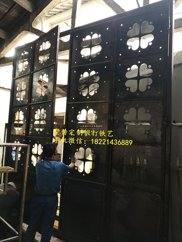 Shanghai Hench Brand China Factory 100% Custom Made Sale Australia Iron Door For House