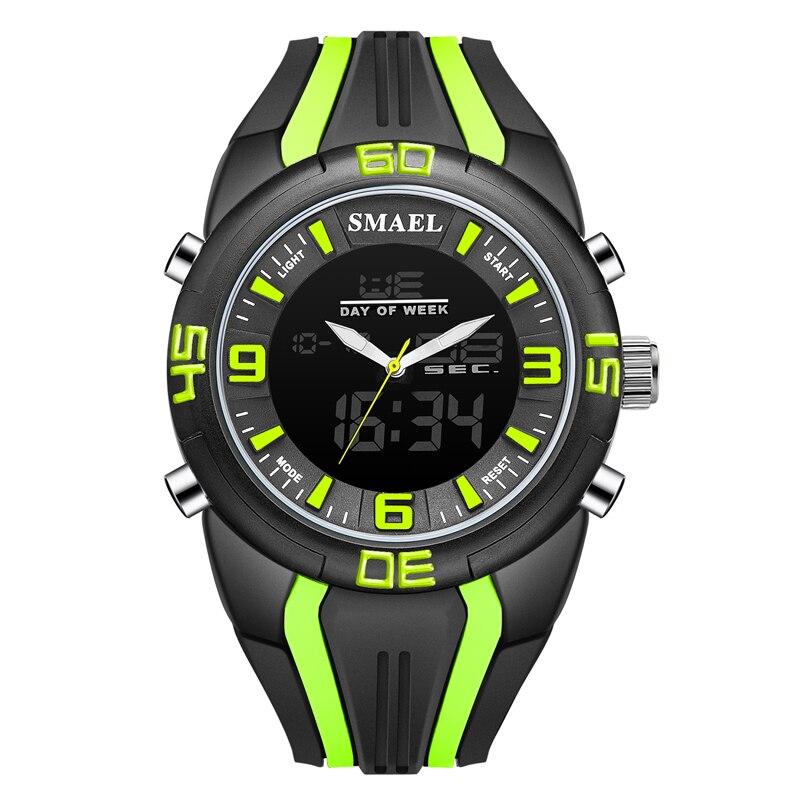 New SMAEL Watch Men's Digital Quartz Clock Male Chronograph Waterproof Military Wrist Watch Men Sport Watches Erkek Kol Saati