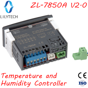 Image 4 - ZL 7850A ver 2.0, Incubator, Cheese or Sausage Deposit, Wet Sauna Control, Humidity Temperature Controller, Hygrostat Thermostat