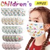 In Stock 50pcs Kids Children Disposable Mask Cartoon Printed Face Mask 3 Layer Earloop Breathable Non Wovens Mask Mascarillas #1