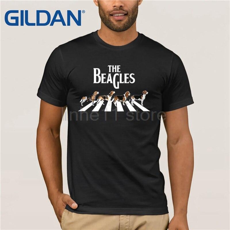 The Beagles Funny Beagle Lovers T-Shirt 2019 Summer Men's Short T-Shirt Clothes Popular T-Shirt Crewneck 100% Cotton Tees