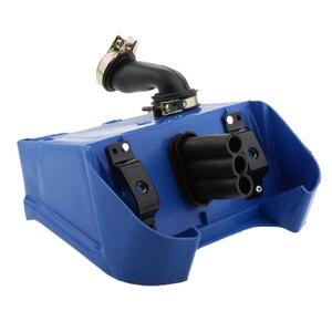 Image 3 - Mavi hava kutusu filtre tertibatı için Yamaha PEEWEE PW80 PW 80 Pit kir bisikletleri
