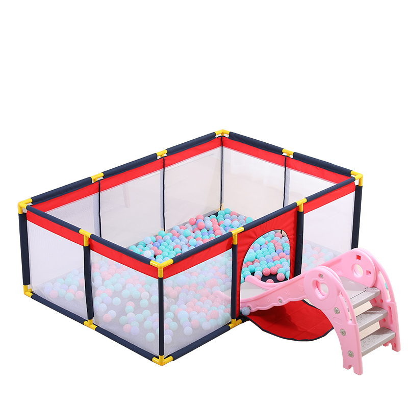 Portable Baby Pool Kids Playpen Folding Baby Fence Children Oxford Cloth Foldable Pool Balls Child Bed Fence
