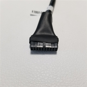 Image 3 - 10 unids/lote placa base USB 3,0 hembra 20Pin a USB 2,0 macho 9 pines extensión Cable adaptador para ordenador de escritorio PC