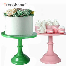 Transhome Cupcake standı Metal tatlı masa yüksek kek tepsisi noel düğün doğum günü partisi Macaron kek raf düğün standı