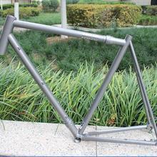 Китайская велосипедная рама MTB, Заказная титановая велосипедная Рама для пескоструйной обработки поверхности, горячая Распродажа титановая велосипедная рама MTB с польскими логотипами