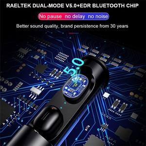 Image 4 - Горячая Распродажа, высокое качество, T1 Pro True HIFI Беспроводная BT 5,0 гарнитура, спортивные наушники, близнецы, стерео наушники