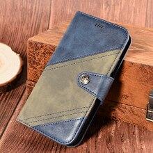 Capa de telefone vintage para umidigi power 3 luxo flip magnética carteira capa para umidigi power 3 caso cross color estilo