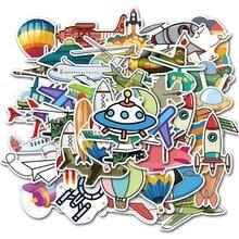 40 шт. Мультфильм Летающий инструмент воздушный шар серии DIY декоративные наклейки дети мальчики игрушки скрапбук наклейка на книжку