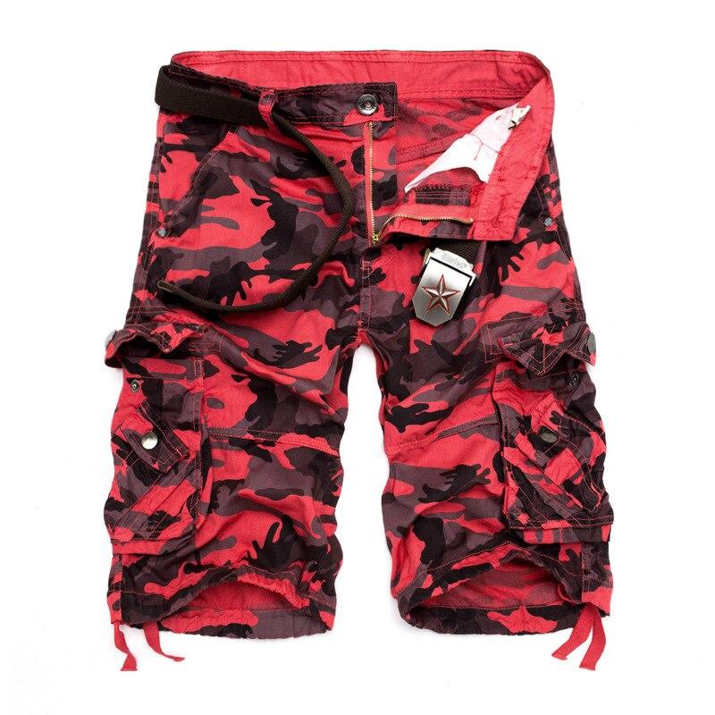 2019 Loose-Fit Casual Camouflage Large Size Workwear Shorts Large Size Multi-pockets Short Shorts Workwear Shorts Men