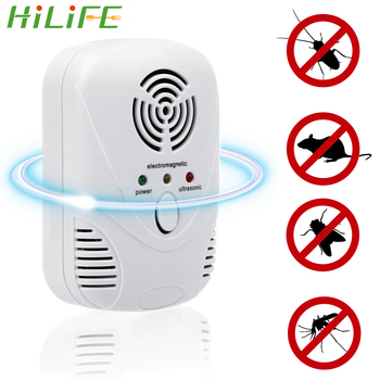 HILIFE  EU/US Plug Cockroach Trap Mouse Killer 110-240V/5W Electronic Ultrasonic Pest Control Repeller