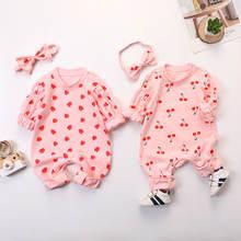 2020 милый весенний детский комбинезон Одежда для новорожденных