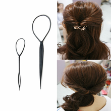 Ponytail Plastic Loop Styling Tools