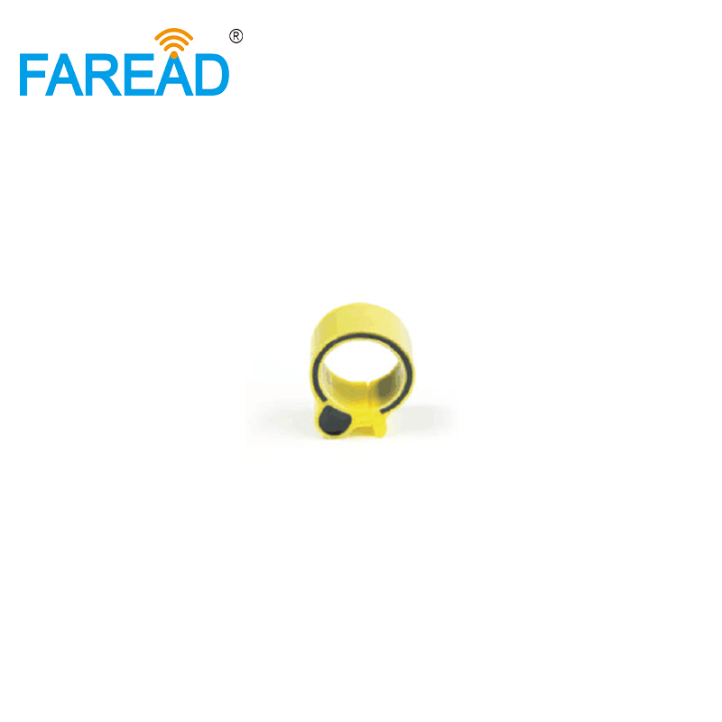 X100pcs 18mm RFID TK4100 Chip 125Khz RFID Foot  Tag Ring For Chicken Duck Gooses ID Tagging