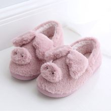 Women flip flops Slippers Warm Winter Slippers Indoor Home Cute Soft Plush Ball Women Interior Boots Zapatos De Mujer Slides#D9(China)