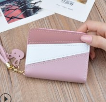 Women Wallets Small Leather Purse Women Ladies Card Bag For Women 2019  Female Purse Money Clip Wallet