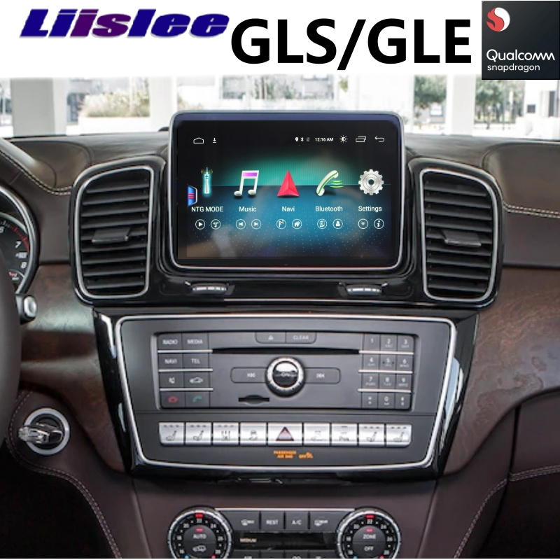 For Mercedes Benz MB GLS GLE X166 2015 2016 2017 2018 2019 Car Multimedia Player NAVI Wireless CarPlay Car Radio GPS Navigation image