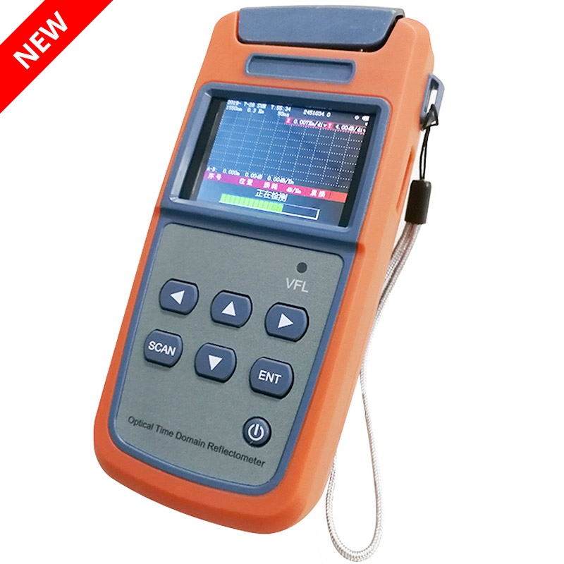 Mini OTDR JW3305A 1310/1550nm Optical Time Domain Reflectometer OTDR Built-in Visual Fault Locator Function
