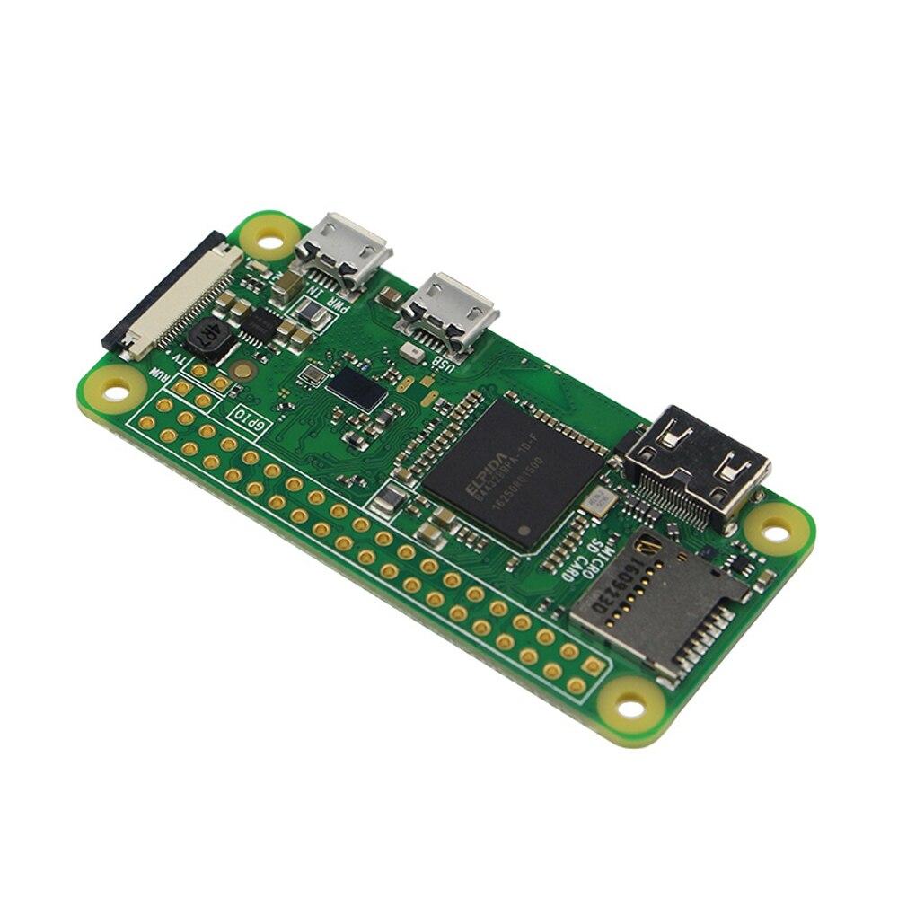 Оригинальный Raspberry Pi Zero W Беспроводной комплект 512 Мб Оперативная память бортовой Wi-Fi Bluetooth с акриловый чехол Алюминий теплоотвод для RPI 0 Вт