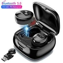 XG12 TWS Bluetooth 5.0 Wireless Earphone 5D Stereo Earbus HIFI Sound In-Earphone Sport Handsfree Game Headset