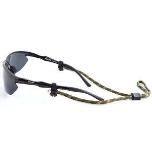 Image 2 - 20 個アーミーグリーン眼鏡スポーツ臍帯チェーン文字列メガネチェーン、調整可能なサングラススポーツバンドヘッドストラップヘッドバンド