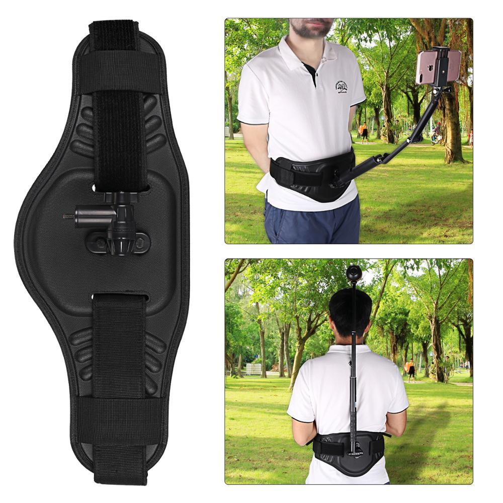 Sangle portable ceinture ceinture fixation fixe support pour GoPro Hero 7 6 5 4 3 Insta360 ONE X DJI OSMO accessoires caméras d'action