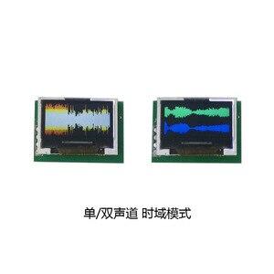 Image 2 - 0.96 inç OLED müzik spektrum ekran analiz cihazı W/saat MP3 amplifikatör ses seviyesi göstergesi ritim analizörü VU metre dc 5v  12v