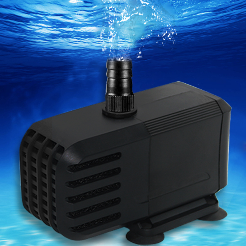 GAKO High Flow Water Pump IP68 Ultra-quiet  Aquarium Amphibious Fish Tank Water Fountain Pump Power Head Pump
