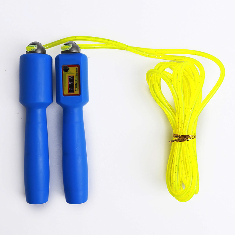 2019 New Style PVC Profession Electronic Counting Jump Rope Creative Students Exam Training For Jump Rope Straight