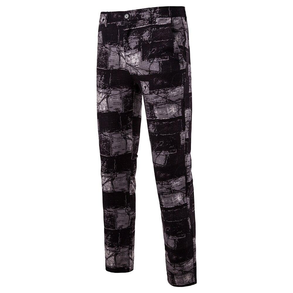 Мужская Мода Национальный Ветер Повседневное модные Для мужчин Блейзер Для мужчин s Брюки - Цвет: 13