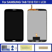 8 0 t310 Display For Samsung Galaxy Tab 3 8.0 T310 T311 SM-T310 SM-T311 LCD Display Touch Screen Digitizer Sensors Assembly Panel (1)