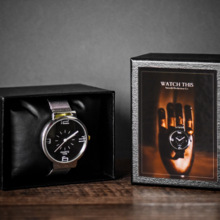 Watch This (Card+Watch Set) Magic Tricks Card Change to Watch Close Up Street Illusion Gimmick Mentalism Puzzle Toy Magia Card