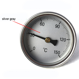Image 2 - Food grade metal thermometer thermometer needle temperature thermometer for Distiller