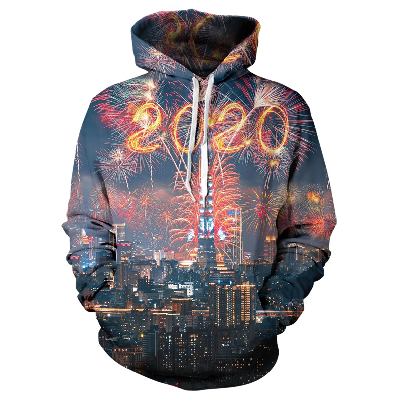 New Popular 3D Printing Color Creative Cute Design / Number / Letter Hoodie Men's And Women's Casual Street Style Top Xxs-6xl