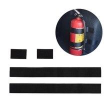 2 PCS Fire Extinguisher Car Holder Universal Strap Down Design Organizer