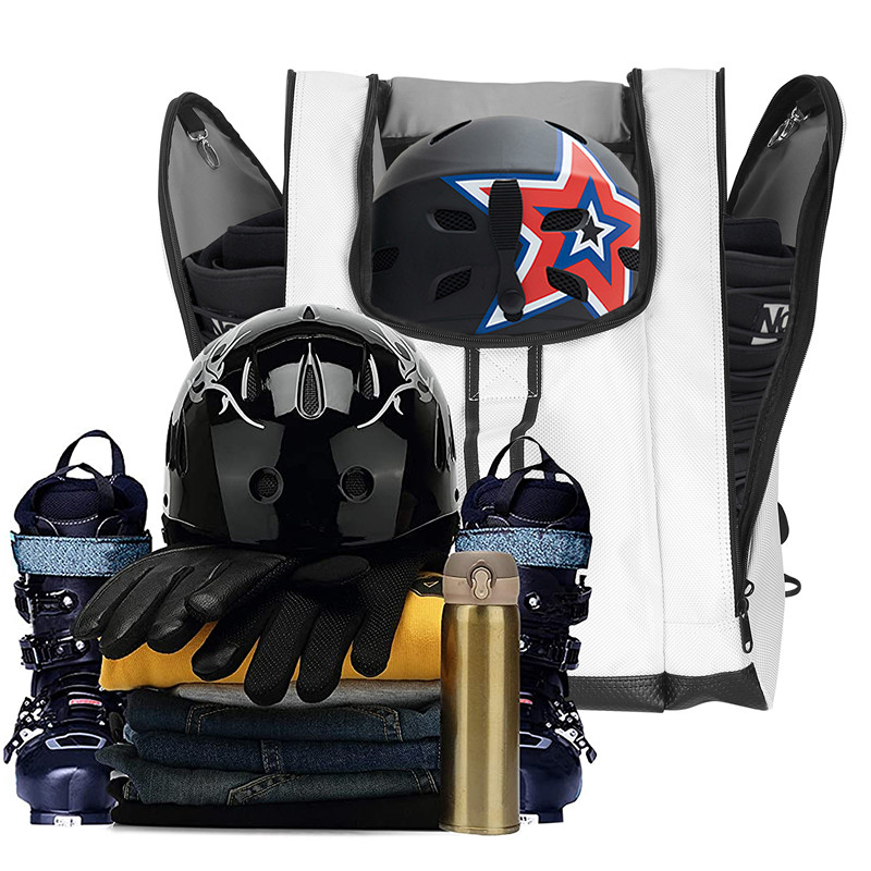 SoarOwl Boot Bag Ski Boots and Snowboard Boots Bag Excellent for Travel with Waterproof Exterior & Bottom for Men Women Youth