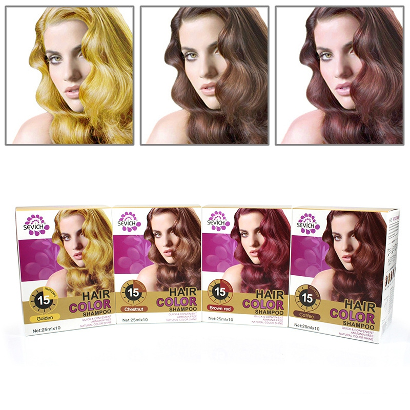Pure Plants Are Naturally Non-irritating Dyed Shampoo Hair Care Hair Color Shampoo image