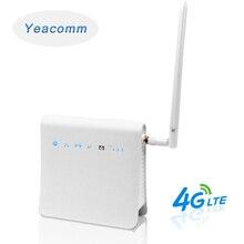 Yeacomm routeur WiFi sans fil, 300 mb/s, P25, 4G, LTE/CPE, avec fente pour carte SIM et antenne externe