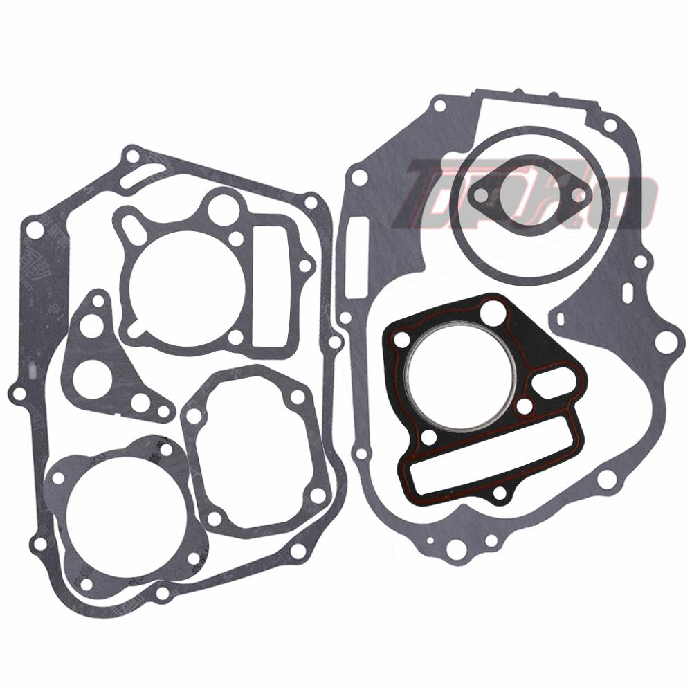TDPRO 125cc 140cc 150cc Lifan Set Engine Gaskets Motor Cylinder Gasket Head Base For Dirt Pit Bike Motorcycle Scooter Quad Buggy in Engines from Automobiles Motorcycles