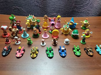 Nintendo games Super bros Brothers Chess Collector's Edition Luigi Peach Mushroom Koopa PVC Figures Model Toys image