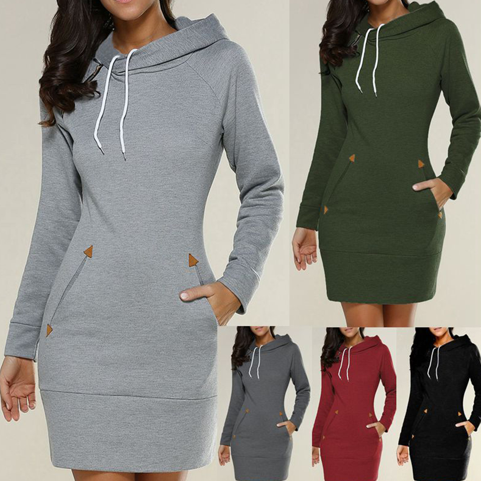 Extra Long Hoodie Plain Hooded Elegant Sweatshirt 4xl 5xl Big Size Poleron Mujer 2020 Cord Tunic