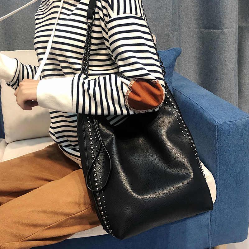 Vintage Echte Öl Wachs Kuh Leder frauen Handtasche Schulter/Messenger Rindsleder Einkaufs Griff Taschen Satchel Sac EIN Haupt c1278