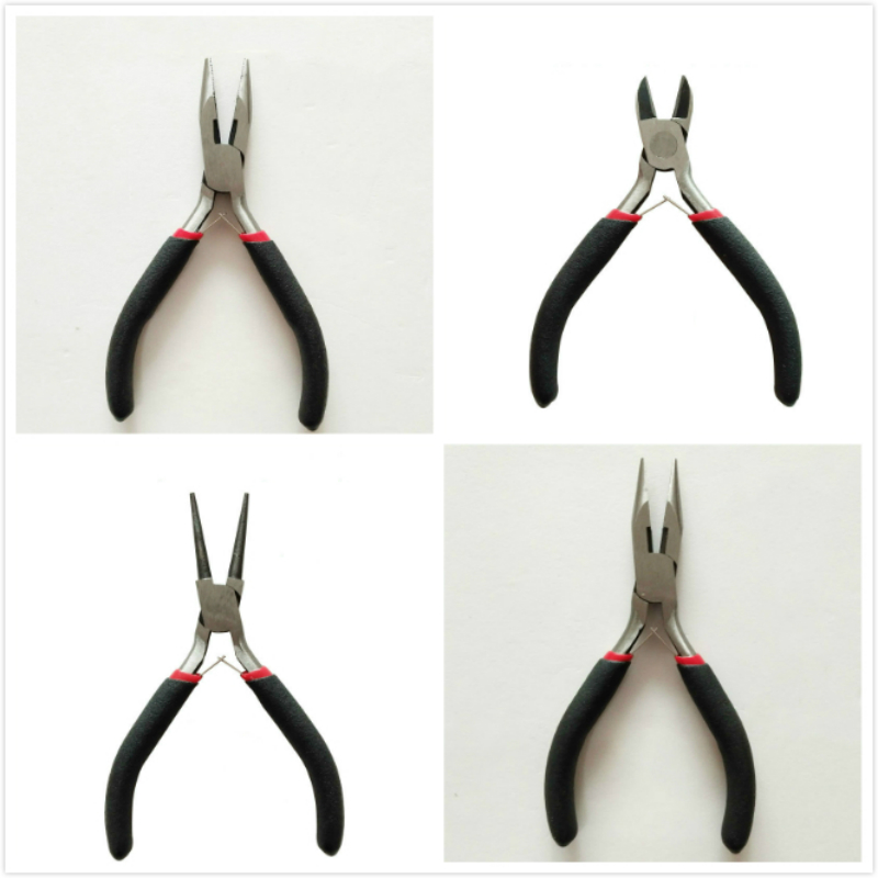 Mini Pliers Electrical Wire Cable Cutters Cutting Side Snips Flush Pliers Nipper Anti-slip Rubber Mini Diagonal Plier Hand Tool