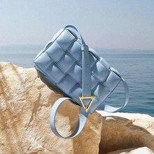 Padded Cassette Stitching Square Bread Bag Designer Luxury H