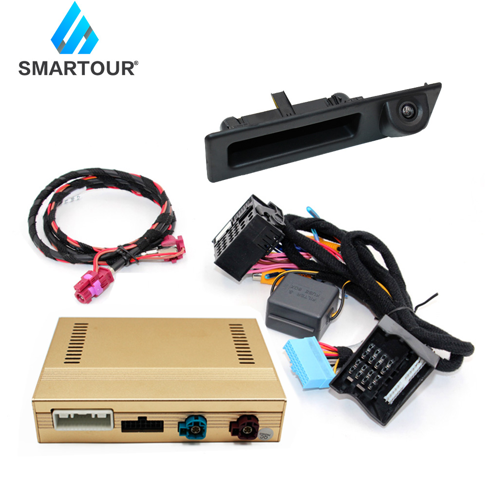 Smartour Original Screen Update System For BMW 3 F30 F31 F34 2010~2012 NBT System Reversing Module Rear Camera/Decode Track Box