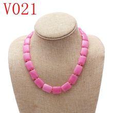 Ожерелье с натуральным опалом модная трендовая подвеска драгоценным