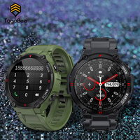 TagoBee Smart Uhr Männer Barometrischen Blutdruck Wetter K22 Lange Batterie 400mAh Smartwatch Fitness Tracker Herz Rate Armband
